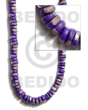 Ethnic 4-5mm coco pokalet. violet all