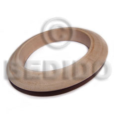 Philippine plain wholesale raw natural wooden blank bangle casing only teens necklace