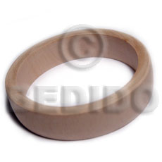 Native plain wholesale raw natural wooden blank bangle casing only shell necklace