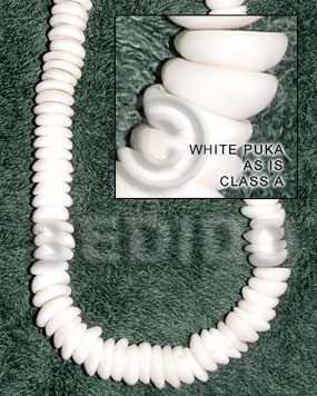 Philippines white puka - as is puka necklace
