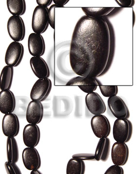 Philippine camagong flat oval 12x20mm all