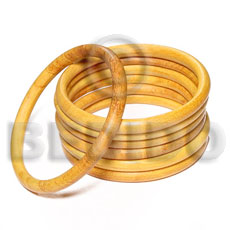 Wholesale nangka wood bangle 6mm wooden bangles