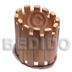 Handmade elastic ambabawod wood bangle wooden bangles