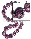 Kukui nuts marbleized metallic