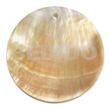 Mop shell round 40mm